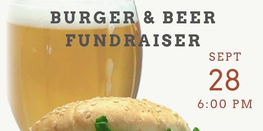 Burger & Beer Silent Auction Fundraiser