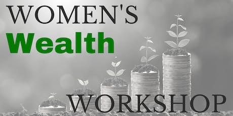 Women's Wealth Workshop October 1 tickets