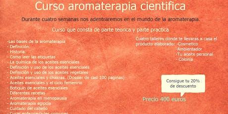 Curso Aromaterapia Científica tickets