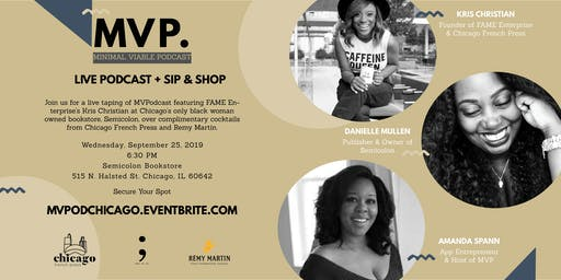 Amanda Spann's MVP: Live Podcast Chicago with Special Guest Kris Christian