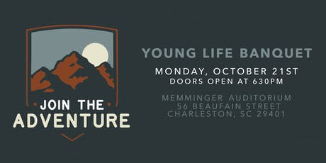 Charleston Young Life Fundraising Banquet tickets