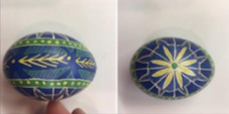 Hand Painted Ukrainian Eggs tickets