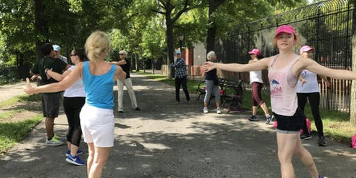 Moving for Life Dance Exercise Class @ Kissena Corridor Park
