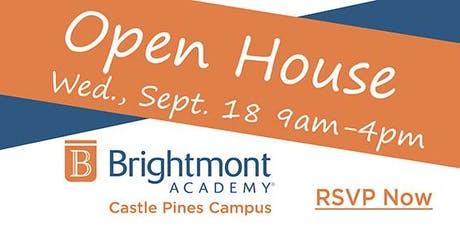 Brightmont Academy - Castle Pines Open House tickets