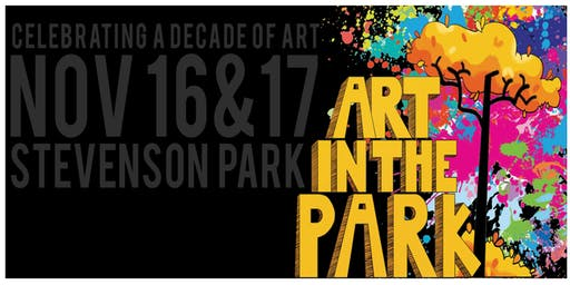 Volunteer At The 10th Annual Friendswood Art in the Park