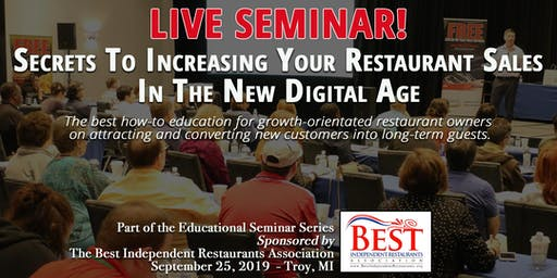 Secrets To Increasing Your Restaurant Sales In The New Digital Age