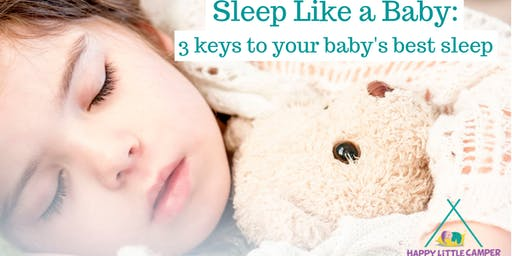Sleep Like a Baby class (Nov)