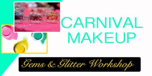 Carnival Makeup Gems Workshop - Miami