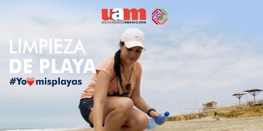 Limpieza de playa: Costa del este