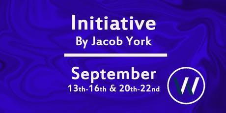 Initiative by Jacob York tickets