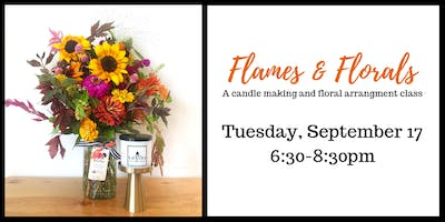 Flames and Florals: Create your own candles and flower arrangements.