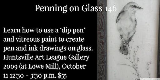 Penning on Glass 146