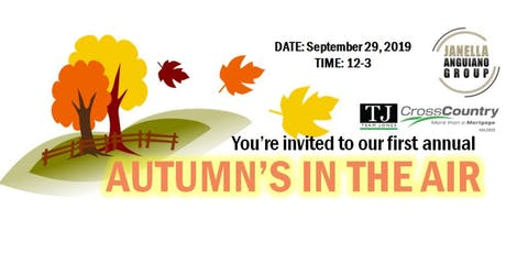 Autumn Is In The Air! tickets