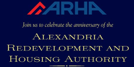 Alexandria Redevelopment and Housing Authority's 80th Anniversary Gala tickets