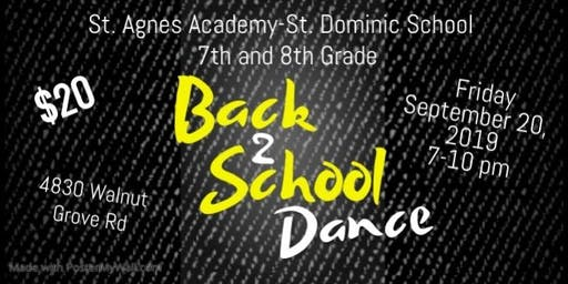 SAA-SDS 7th & 8th Grade Dance
