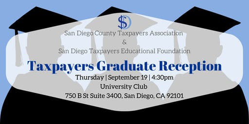 2019 Taxpayers Graduate Reception