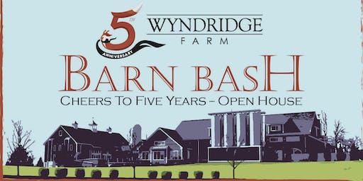 Wyndridge Barn Bash & Open House