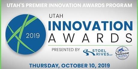 17th Annual Utah Innovation Awards - Salt Lake City, UT - October 10, 2019 tickets