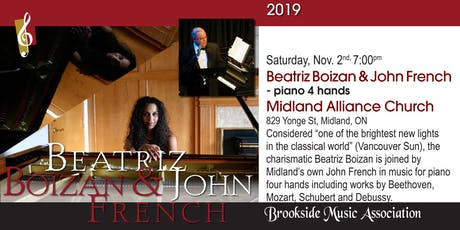 Beatriz Boizan & John French - Piano Four Hands tickets
