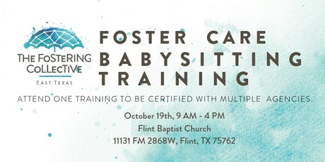 Foster Care Babysitting Training - Oct 19th, 2019 tickets
