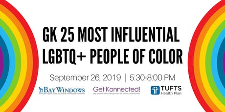 Get Konnected! 25 Most Influential LGBTQ+ People of Color in Greater Boston tickets