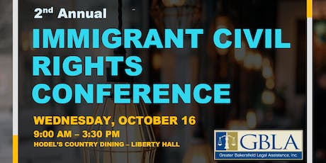 GBLA 2nd Annual Immigrant Civil Rights Conference tickets