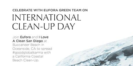 Eufora Team Green Beach CleanUp tickets