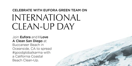Eufora Team Green Beach CleanUp