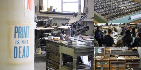 Private Tour & Demo @ Woodside Press, NYC's Largest Letterpress Studio tickets