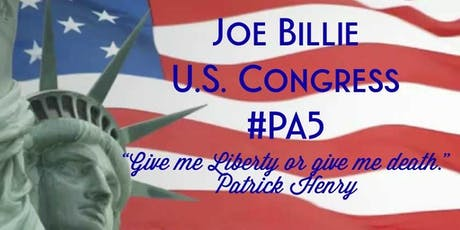 Joe Billie For Congress Offical Kickoff tickets