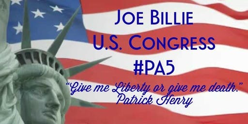 Joe Billie For Congress Offical Kickoff