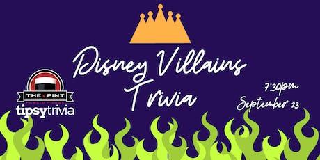 Disney Villains Trivia - Sept 23, 7:30pm - The Pint Vancouver tickets