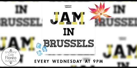 Jam in Brussels Le rendez-vous Jam tickets