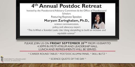 Postdoc Retreat