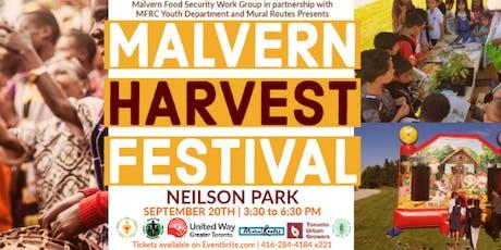 Malvern Harvest Festival 2019 tickets