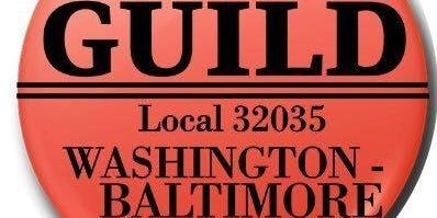 Front Page Awards by Washington Baltimore New Guild