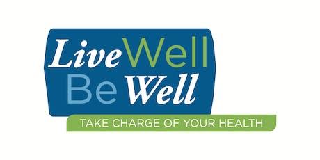 Pinckneyville: FREE Live Well Be Well Workshop tickets