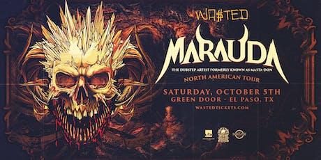 Marauda fka Masta-don – North American Tour – El Paso, Tx tickets
