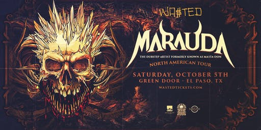 Marauda fka Masta-don – North American Tour – El Paso, Tx