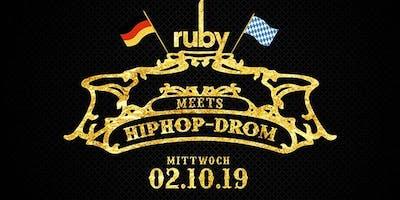 HipHop-Drom - Die einzigartige HipHop After Wiesn Party!