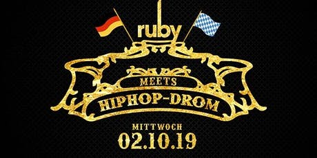HipHop-Drom - Die einzigartige HipHop After Wiesn Party! Tickets