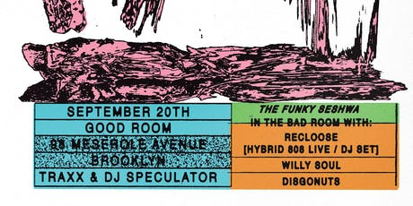 Traxx & DJ Speculator (Willie Burns) + The Funky Seshwa tickets