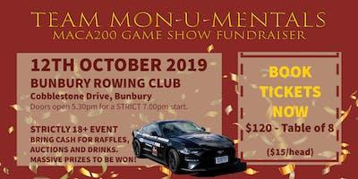 Bunbury Quiz Game Show Night - Maca Cancer 200 Ride For Research Fundraiser