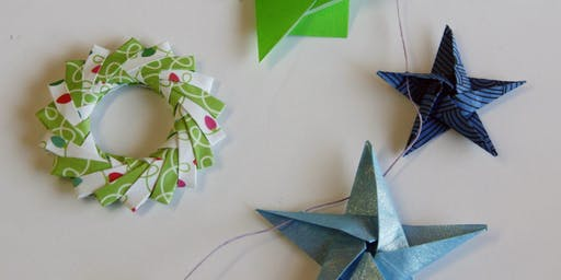 Origami Ornaments Workshop