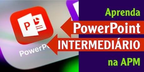 Curso de informática – Microsoft PowerPoint Intermediário ingressos