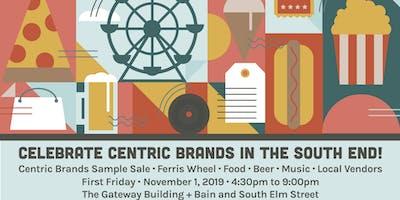 Vendor Registration - Celebrate Centric Brands in the South End