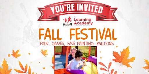 The Learning Academy's Fall Festival at Freeman's Farm