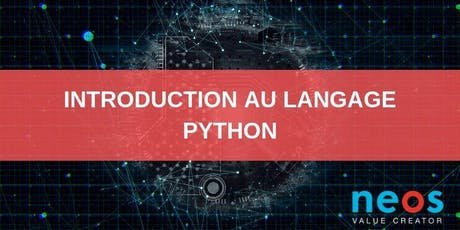 Python language introduction billets