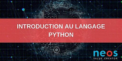 Python language introduction