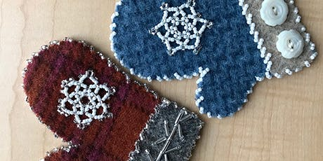 Beaded Mittens Ornaments Workshop tickets